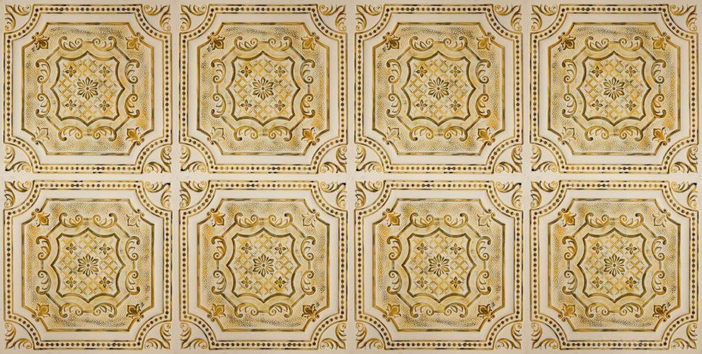 Tavan Karosu Alhambra Blance Fonce