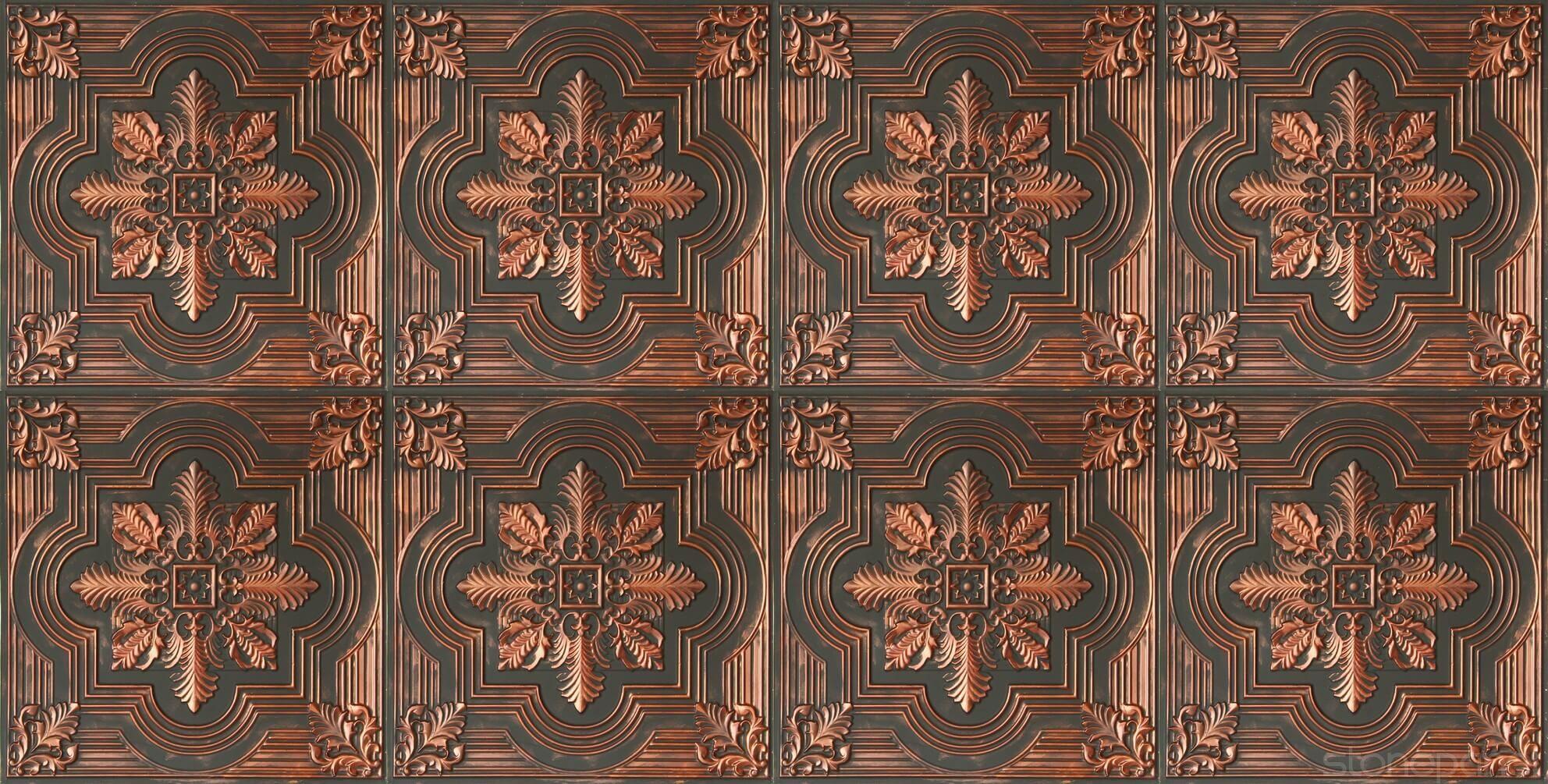 Tavan Karosu Savanna Argent Copper