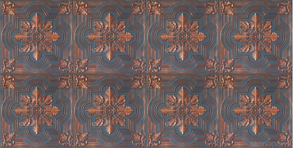 Tavan Karosu Savanna Bluish Copper