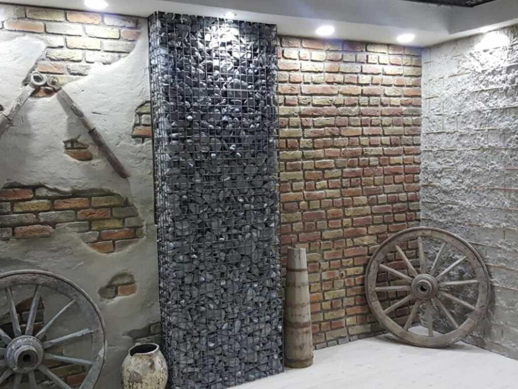 Ladrillo Cemento Tuğla Panel Kaplama