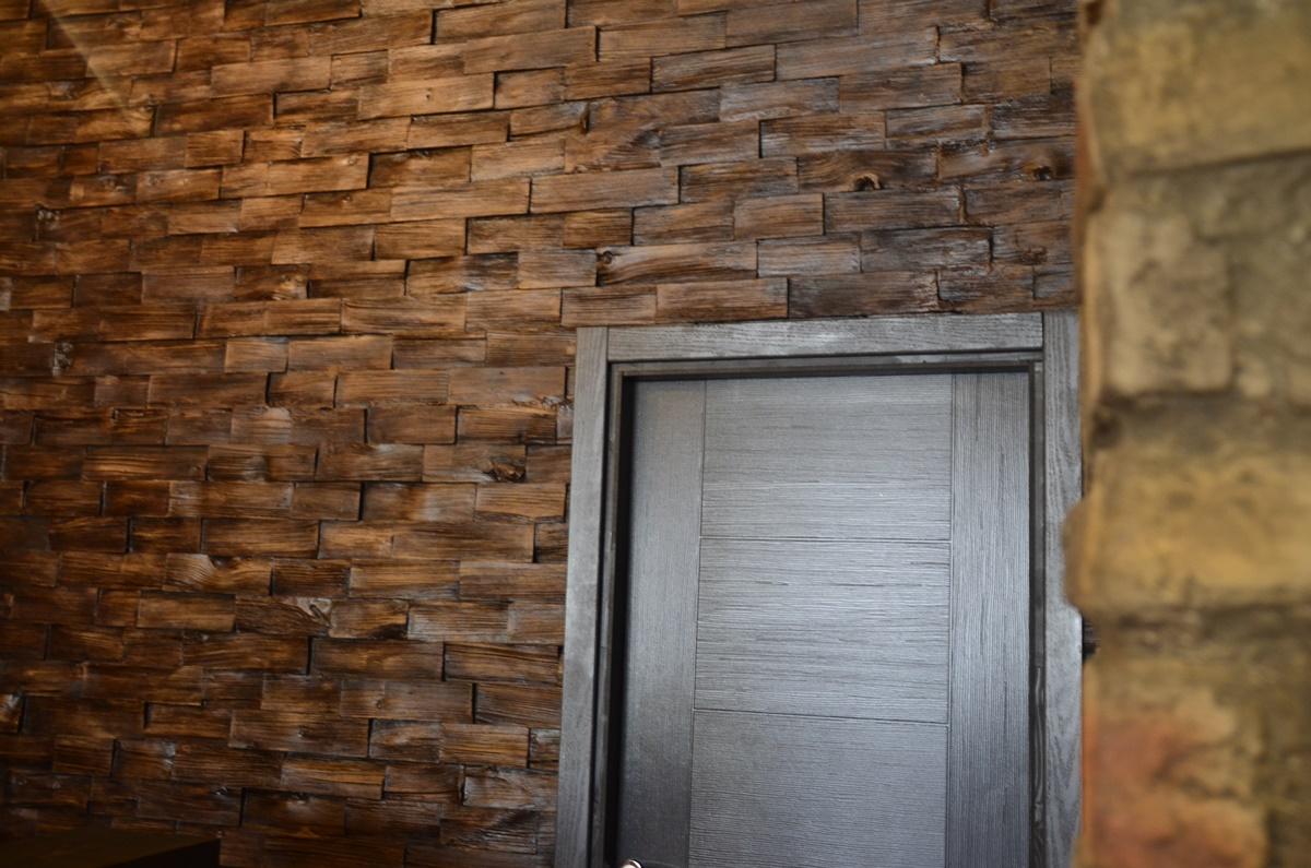 Wood Ahşap Panel Uygulama