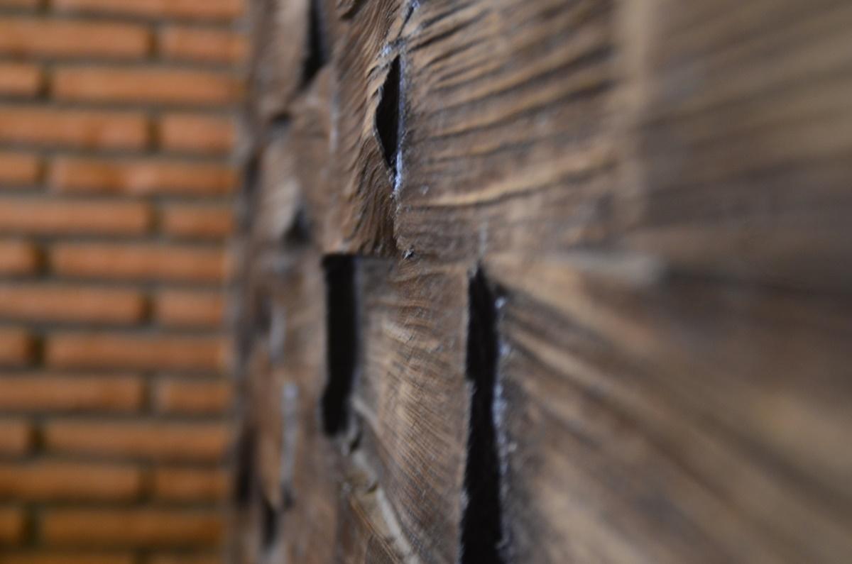 Wood Beton Panel Uygulama