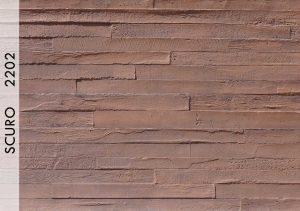 Beton Panel Wood Scuro